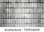 old block texture background | Shutterstock . vector #720918349