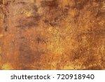grunge rusted metal texture ... | Shutterstock . vector #720918940