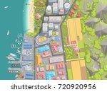 vector illustration. cityscape...   Shutterstock .eps vector #720920956