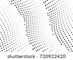 abstract halftone wave dotted... | Shutterstock .eps vector #720922420