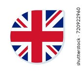 uk of great britain button... | Shutterstock .eps vector #720922960