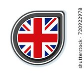 uk of great britain button... | Shutterstock .eps vector #720922978
