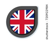 uk of great britain button... | Shutterstock .eps vector #720922984