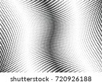 abstract halftone wave dotted... | Shutterstock .eps vector #720926188