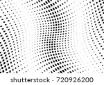 abstract halftone wave dotted... | Shutterstock .eps vector #720926200