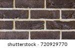 texture of natural brick.... | Shutterstock . vector #720929770
