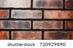 texture of natural brick.... | Shutterstock . vector #720929890