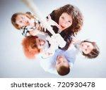 image of businesspeople... | Shutterstock . vector #720930478