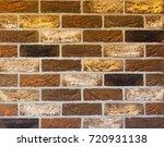 texture of natural brick.... | Shutterstock . vector #720931138
