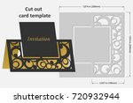 template cards to cut. topper.... | Shutterstock .eps vector #720932944
