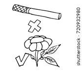 day of refusal of smoking.... | Shutterstock .eps vector #720932980