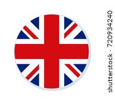 uk of great britain button... | Shutterstock .eps vector #720934240