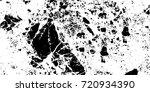 black white grunge vector... | Shutterstock .eps vector #720934390