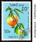 laos   circa 1989  a stamp... | Shutterstock . vector #720942160