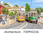 lisbon  portugal   august 25 ... | Shutterstock . vector #720942226