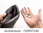 no money. if you do not manage... | Shutterstock . vector #720947140
