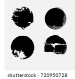 grunge post stamps collection ... | Shutterstock .eps vector #720950728