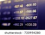 stock market chart. business... | Shutterstock . vector #720954280
