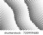 abstract halftone wave dotted... | Shutterstock .eps vector #720959680