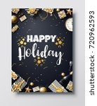 vector illustration of happy...   Shutterstock .eps vector #720962593