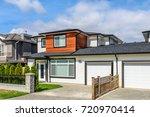 luxury house in vancouver ... | Shutterstock . vector #720970414
