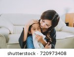mother and child the image of... | Shutterstock . vector #720973408