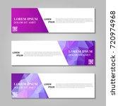 vector abstract banner | Shutterstock .eps vector #720974968