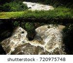 18th century bridge not in use... | Shutterstock . vector #720975748
