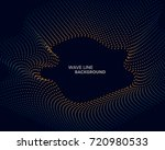 elegant abstract vector web... | Shutterstock .eps vector #720980533