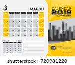 desk calendar 2018 template.... | Shutterstock .eps vector #720981220