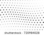abstract halftone wave dotted... | Shutterstock .eps vector #720984028