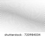 abstract halftone wave dotted... | Shutterstock .eps vector #720984034