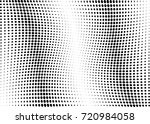 abstract halftone wave dotted... | Shutterstock .eps vector #720984058