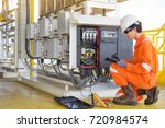 electrical and instrument... | Shutterstock . vector #720984574