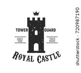 royal castle logo   castle ... | Shutterstock .eps vector #720987190
