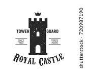 royal castle logo   castle ... | Shutterstock .eps vector #720987190