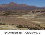quebrada chuba  a wide river...   Shutterstock . vector #720989479