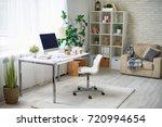 background image of empty... | Shutterstock . vector #720994654
