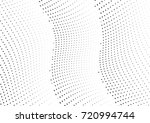 abstract halftone wave dotted... | Shutterstock .eps vector #720994744