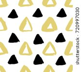 seamless pattern with brush... | Shutterstock .eps vector #720997030
