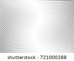 abstract halftone wave dotted... | Shutterstock .eps vector #721000288