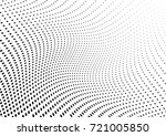 abstract halftone wave dotted... | Shutterstock .eps vector #721005850