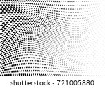 abstract halftone wave dotted... | Shutterstock .eps vector #721005880