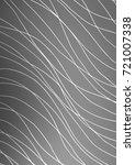 light silver  gray abstract... | Shutterstock . vector #721007338