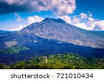 Mount Agung In Bali. Mount...