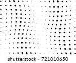 abstract halftone wave dotted... | Shutterstock .eps vector #721010650