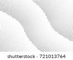 abstract halftone wave dotted... | Shutterstock .eps vector #721013764