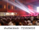 blur the music activity of... | Shutterstock . vector #721026010