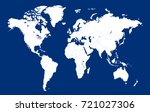 world map. | Shutterstock .eps vector #721027306