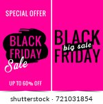 black friday banners  | Shutterstock . vector #721031854